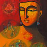 Lord Vishnu Art Print