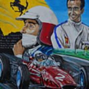 Lorenzo E Ferrari. La Passione Del Tifosi Art Print