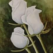 Lorettas Roses Art Print