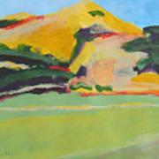 Los Alamos Valley Iv Art Print