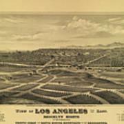 Los Angeles 1877 Art Print
