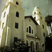 Beverly Hills Church Art Print