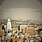 Los Angeles City Hall Art Print