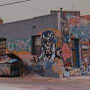 Los Angeles Urban Art Art Print