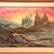 Los Picachos Art Print