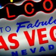 Lost In Vegas Art Print