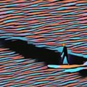 Lost Surfer Art Print
