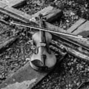 Lost Violin Art Print
