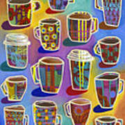 Lots Of Lattes Art Print