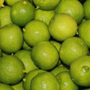 Lots Of Limes Art Print