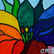 Lotus Flower 1 Art Print