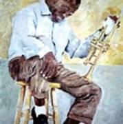 Louis Armstrong- Pops Art Print