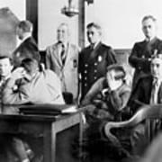 Louis Buchalter At Murder Trial, Louis Art Print by Everett