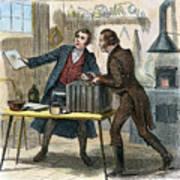 Louis J.m. Daguerre Art Print