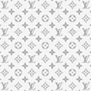 Louis Vuitton Pattern - Lv Pattern 14 - Fashion And Lifestyle Art Print