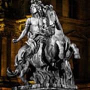 Louis Xiv By Bernini Art Print