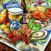 Louisiana 4 Seasons Art Print