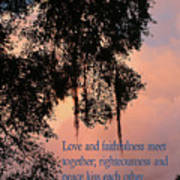 Louisiana Moss In Sunset Ps.85 V 10 Art Print