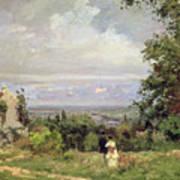 Louveciennes Art Print by Camille Pissarro