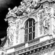 Louvre Palace Window Paris Art Print