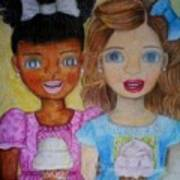 Love And Friendship  Art Print