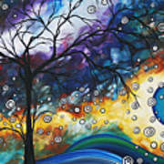 Love And Laughter By Madart Art Print by Megan Duncanson