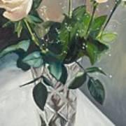 Love And Roses Art Print