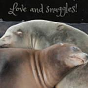 Love And Snuggles Art Print