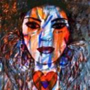 Love Angel-2 Art Print