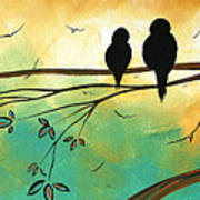 Love Birds By Madart Art Print