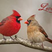 Love Art Print by Bonnie Barry