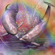 Love Bubbles Art Print