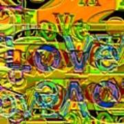 Love Contest Art Print