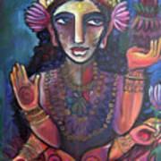 Love For Lakshmi Art Print