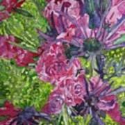 Love For Roses Art Print