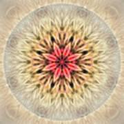 Love From Within Mandala Art Print