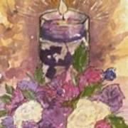 Love In Lavender Between The Lines Art Print