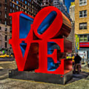 Love In Nyc Art Print