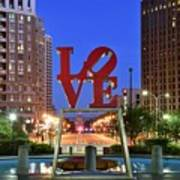 Love In Philadelphia Art Print