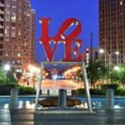 Love In Philly Art Print