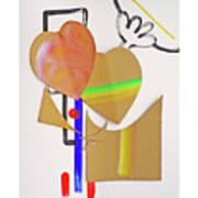 Love Is Blind Art Print