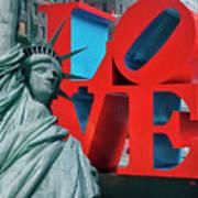 Love New York Art Print