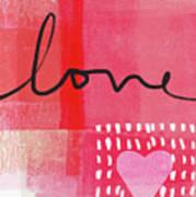 Love Notes- Art By Linda Woods Art Print