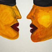 Love-on-line Art Print