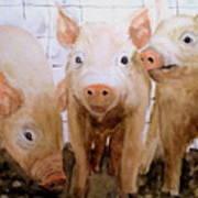 Love On The Farm  Art Print