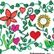 Love On The Vine Art Print