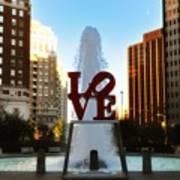 Love Park - Love Conquers All Art Print