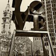 Love Philadelphia Print by Jack Paolini