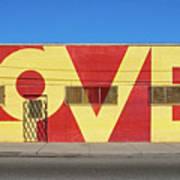 Love Store Front Art Print