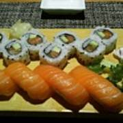 Love Sushi Art Print